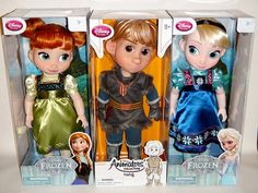 Rare VHTF Frozen Animator's Collection Doll.