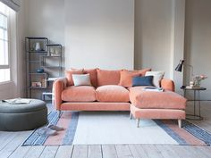 Squishmeister Chaise Sofa | Deep L-Shaped Sofa | Loaf