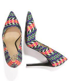 Escarpins Colorés Multicolores - Motifs Géométriques - GX by Gwen Stefani ac5fab999b87