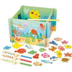 #Vilac magnetisch visspel oceaan #fishing #game  #sint #sinterklaas #littlethingz2