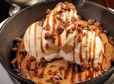 Chocolate Chip Cookie Dough Sundae