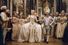 The costumes from Marie Antoinette were spectacular, although I found the movie rather boring and a letdown. Especially considering how interesting a life Marie Antoinette led.