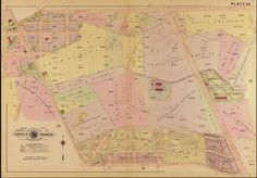 1907 Baist Map of Tenleytown and North Cleveland Park - Ghosts of DC
