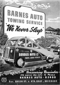 Barnes Towing Service, Brisbane