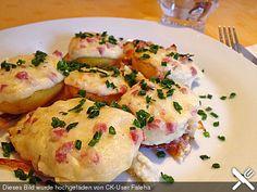 Ofenkartoffeln mit Käsekruste