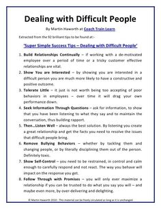 Adult life skills - Dealing with Difficult people Leadership Tips, Leadership Development, Communication Skills, Leadership Activities, Assertive Communication, Servant Leadership, Leadership Qualities, Educational Leadership, Professional Development