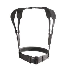 """Blackhawk makes """"stealth suspenders"""" which can be worn under a shirt and connected to a duty belt."""