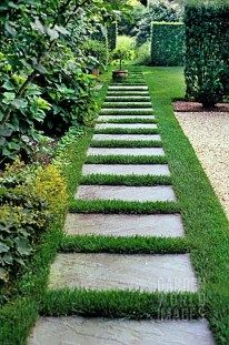 Path design ideas to makeover your front yard (7)