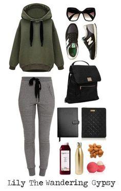 Comfy Travel Outfit Idea