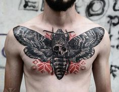 Insect Tattoo by Timur Lysenko | Tattoo No. 12596