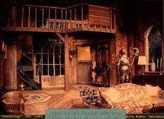 Deathtrap. Set design by Rick Romer