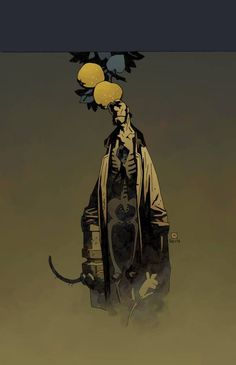 The Art of Mike Mignola* • Blog/Website | (www.artofmikemignola.com) • Online Store | (www.artofmikemignola.com/Shop) ★ || CHARACTER DESIGN REFERENCES (www.facebook.com/CharacterDesignReferences & pinterest.com/characterdesigh) • Do you love Character Design? Join the Character Design Challenge! (link→ www.facebook.com/groups/CharacterDesignChallenge) Share your unique vision of a theme every month, promote your art, learn and make new friends in a community of over 17.000 artists! || ★