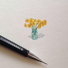 Impressive Miniature Illustrations by Brooke Rothshank