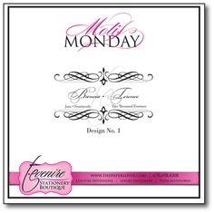 Motif Monday Design No. 1 {6.15.15}