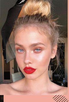Sephora red lip makeup # beauty … - Top Of The World Red Lip Makeup, Prom Makeup, Skin Makeup, Wedding Makeup, Witch Makeup, Homecoming Makeup, Homecoming Ideas, Scary Makeup, Clown Makeup