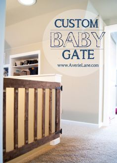 Custom Baby Gate   Averie Lane: Custom Baby Gate  Or could be a dog gate!