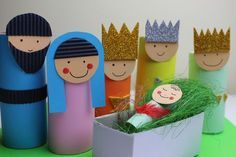 Szopka bożonarodzeniowa do wykonania z dzieckiem