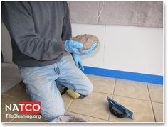 8 best How to Apply Grout to Tile Floor images on Pinterest ...