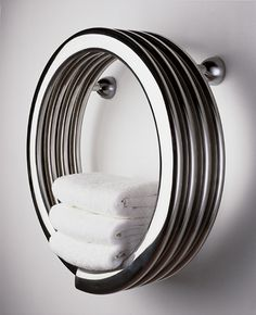Hot Hoop towel warmer | Bisque.co.uk