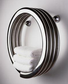 Hot Hoop towel warmer | Bisque.co.uk
