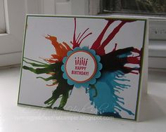 JUN13VSNKIDS Primary Birthday Card - HB by hlw966 - Cards and Paper Crafts at Splitcoaststampers