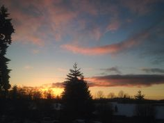 Snow & Sunsets