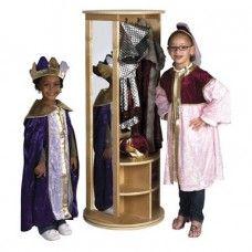 Dressers: Birch Revolving Dress Up Carousel