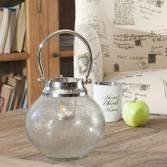 Stolní lampion Helle na čajovou svíčku průměr 20cm, výška 18,5cm, 20x18,5cm - Dekoria