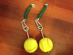 <h1>How to Make Homemade Softball Grips</h1> I recently posted some training videos lately showing a pair of softball grips we had made for the g ...
