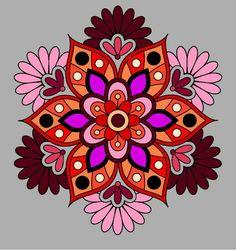 Mandala Art Lesson, Mandala Painting, Stencil Painting, Mandela Flower Tattoo, Quilling Designs, Gourd Art, Mandala Coloring, Art Pages, Doodle Art