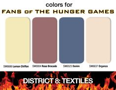 14 Fascinating Colors For Hunger Games Fans images   Color ...
