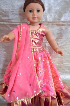 American Girl Doll Pink Princess Outfit by AmericanGirlDollRhea