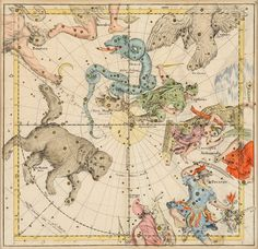 star constellations pictures and names | Constellations named after scientific instruments were mostly created ...