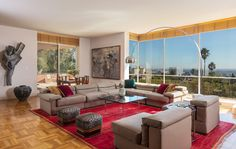 Swoon-worthy house on exclusive La Brea Terrace for sale for $15M - Curbed LAclockmenumore-arrownoyes : The 1.8-acre property is being sold by noted art dealer Margo Leavin