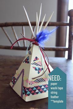 DIY {mini}Teepee