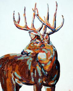 Bradley Gordon artwork, michael would love this in his man room