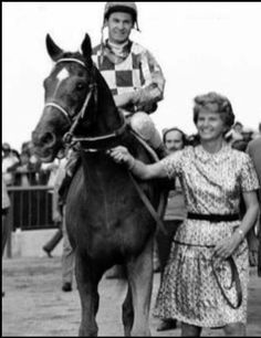 With Ron Turcotte & Owner Penny