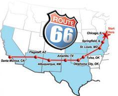 #motorcycletravel Een lange vakantie nemen en de Route 66 met GJ gaan rijden