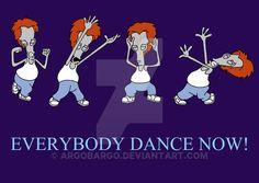 Roger Everybody Dance Now
