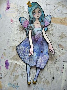 Jointed Articulated Paper Dolls Folk Art by girlwithflaxenhair (nati-art.com)