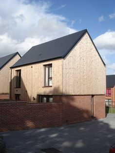 Telford Millenium Village - Thermowood Profile VT3298