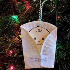 29 Cute Baby Jesus Crafts