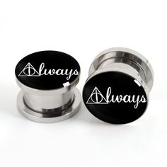 Hey, I found this really awesome Etsy listing at https://www.etsy.com/listing/189791457/pairs-harry-potter-plugs-always-flesh