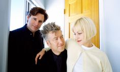 David Lynch and Patricia Arquette