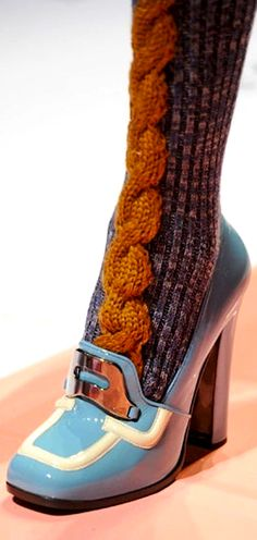 prada pumps and socks Knit Fashion, Fashion Shoes, Fashion Accessories, Ballerinas, Sock Shoes, Shoe Boots, Zapatos Shoes, Pumps, Prada Shoes