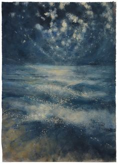Bill Jacklin, Sea and Stars at Night , Marlborough London