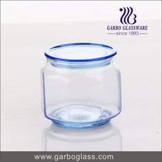 Small size high quality glass jar for home using for hotel using