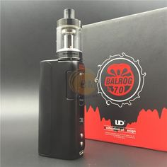 Authentic UD BALROG 70W Kit Ecig 3ml Balrog Atomizer And Balrog 70W TC VW Mod 18650 Baterry Electronic Cigarette Online with $40.25/Piece on Benemore's Store | DHgate.com