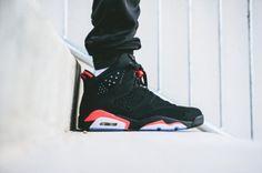 air-jordan-6-black-infrared-2014-4 Nike Air Jordan Retro, Jordan Retro 6 Black, Tenis Basketball, Basketball Shoes For Men, Dope Style, Nike Air Jordans, Cheap Jordans, Best Sneakers, Sneakers Fashion