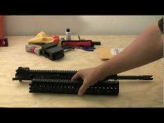 Daniel Defense AR-15 Lite Rail Installation - http://fotar15.com/daniel-defense-ar-15-lite-rail-installation/